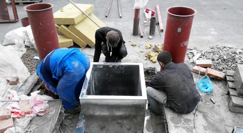 резка бетона под вентиляцию